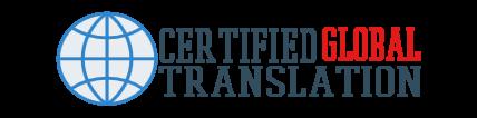 Certified Global Translations